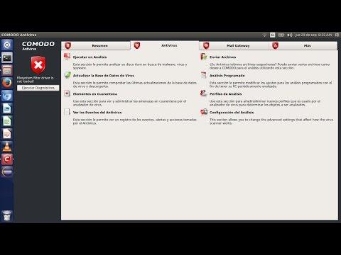 Comodo Un Antivirus Para Ubuntu 16.04 LTS Y Otras Distribuciones Linux