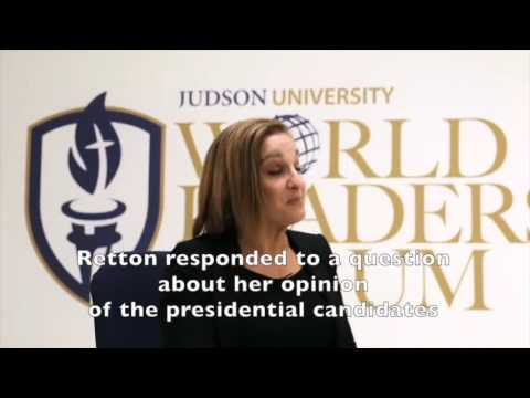 Mary Lou Retton at Judson University