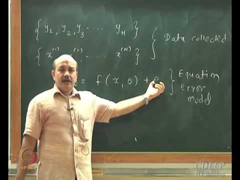 Mod-01 Lec-24 Model Parameter Estimation using Gauss-Newton Method