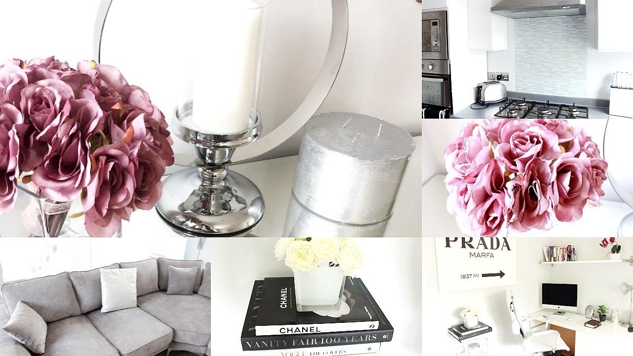 Home Decor Haul Homeware New Sofa Candles Chanel Coffee Table Books Diy Splash Back