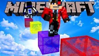 РАДУЖНЫЙ ПАРКУР С НОВЫМИ БЛОКАМИ, КОТОРЫХ ЕЩЕ НЕТ В МАЙНКРАФТЕ!! Minecraft прохождение карты