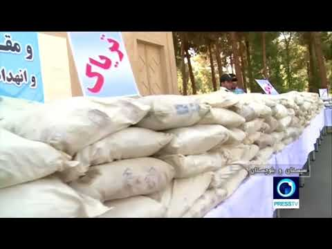 Iran Police Force Seize Six Tons Of Illicit Drugs In SE Province