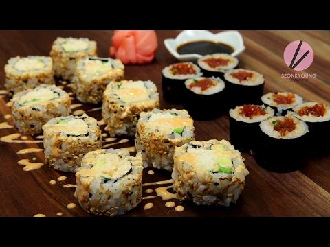 Spicy Tuna & California Rolls