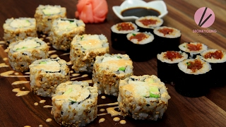 Spicy Tuna & California Rolls