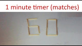 Gambar cover 1 minute timer -- Matches