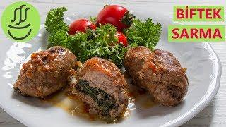 Lokum gibi bayılacağınız bir tat Bonfile Sarma - Ispanaklı Biftek Sarması Tarifi