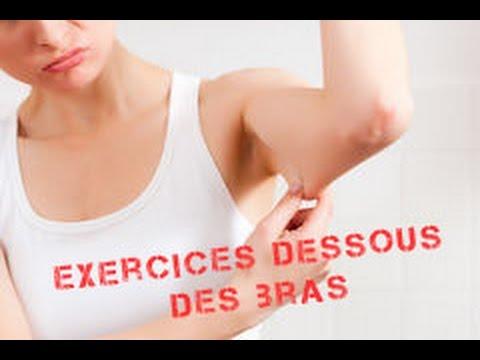 Se muscler le dessous des bras - Les triceps - YouTube c49eb393b38
