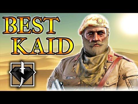 BEST WAY TO USE KAID - Rainbow Six Siege (Operation Wind Bastion)