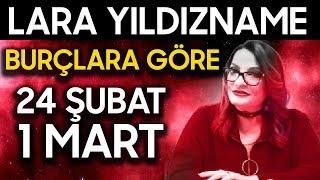 Gambar cover 24 Şubat - 1 Mart Haftalık Lara Yıldızname Burç Yorumu | Binnur Sormageç
