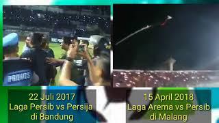 Download lagu Kericuhan di awal liga 1 Indonesia 2017 dan 2018 sanksi setengah hati MP3