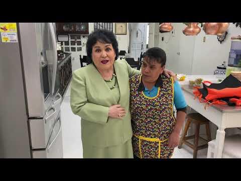 Carmen Salinas nos muestra su cocina