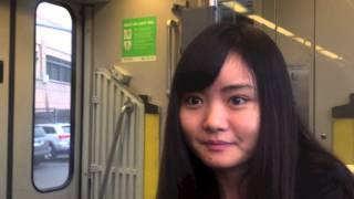 上海出身の友達に中国語を教えてもらいました! スピードが早くてまだま...
