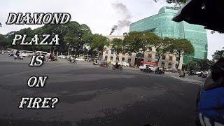 Trung tâm thương mại Diamond Plaza bị cháy? ( Diamond Plaza is on fire? )