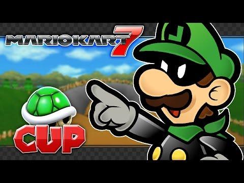 Mario Kart 7 Custom Tracks - Shell Cup 150cc/200cc