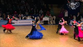 Semi-Final Viennese Waltz | 2014 Euro STD | DanceSport Total