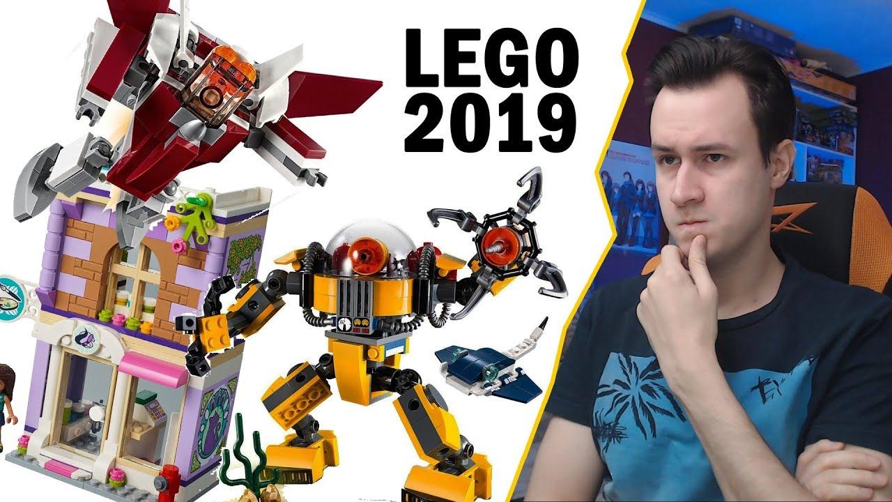 ЧТО КУПИТЬ ИЗ LEGO В 2019? - Creator, Friends  CITY