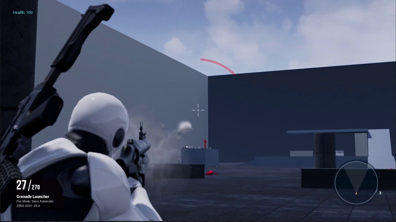 PROJECTILE Weapons System (UNREAL ENGINE 4)