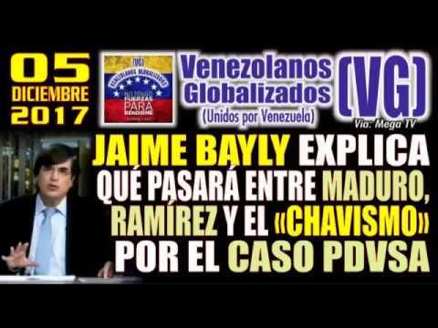 """(5/12/2017) - JAIME BAYLY explica qué pasará entre MADURO, RAMÍREZ y el """"CHAVISMO"""" por el caso PDVSA"""