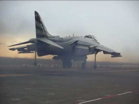Harrier vertical takeoff