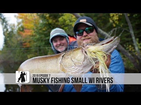 Musky Fishing Small Wisconsin Rivers - Episode 7