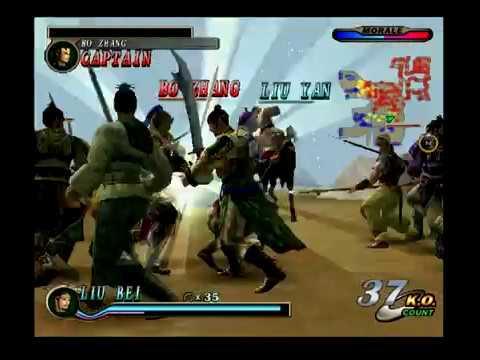 Dynasty Warriors 2 - The Yellow Turban Rebellion - He Jin Forces: Liu Bei (Español)