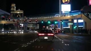 Las Vegas Blvd At Night