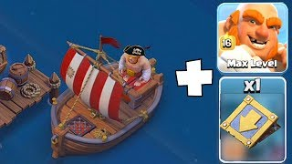 PUT HIM IN THE BOAT!! XD | Clash Of Clans | Lvl 16 Giant MAZE BASE!!