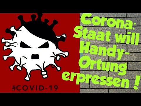 Corona: Staat will Handy-Ortung erpressen!