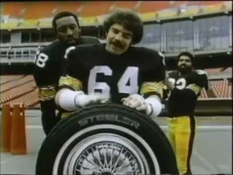 1979 Pittsburgh Steelers Uniroyal Tires Franco Harris Steve Furness L.C. Greenwood