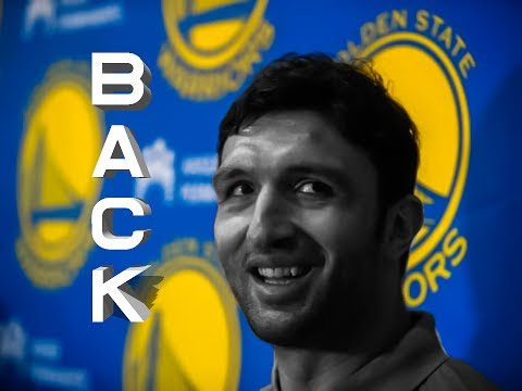 Zaza Pachulia back with the Warriors!