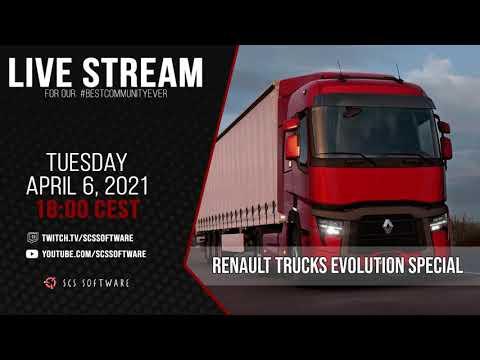 Renault Trucks Evolution Exclusive Live-Stream!