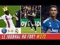 RONALDO chambre l'Atlético, le PSG écrase le REAL, BENZEMA dépassé Henry