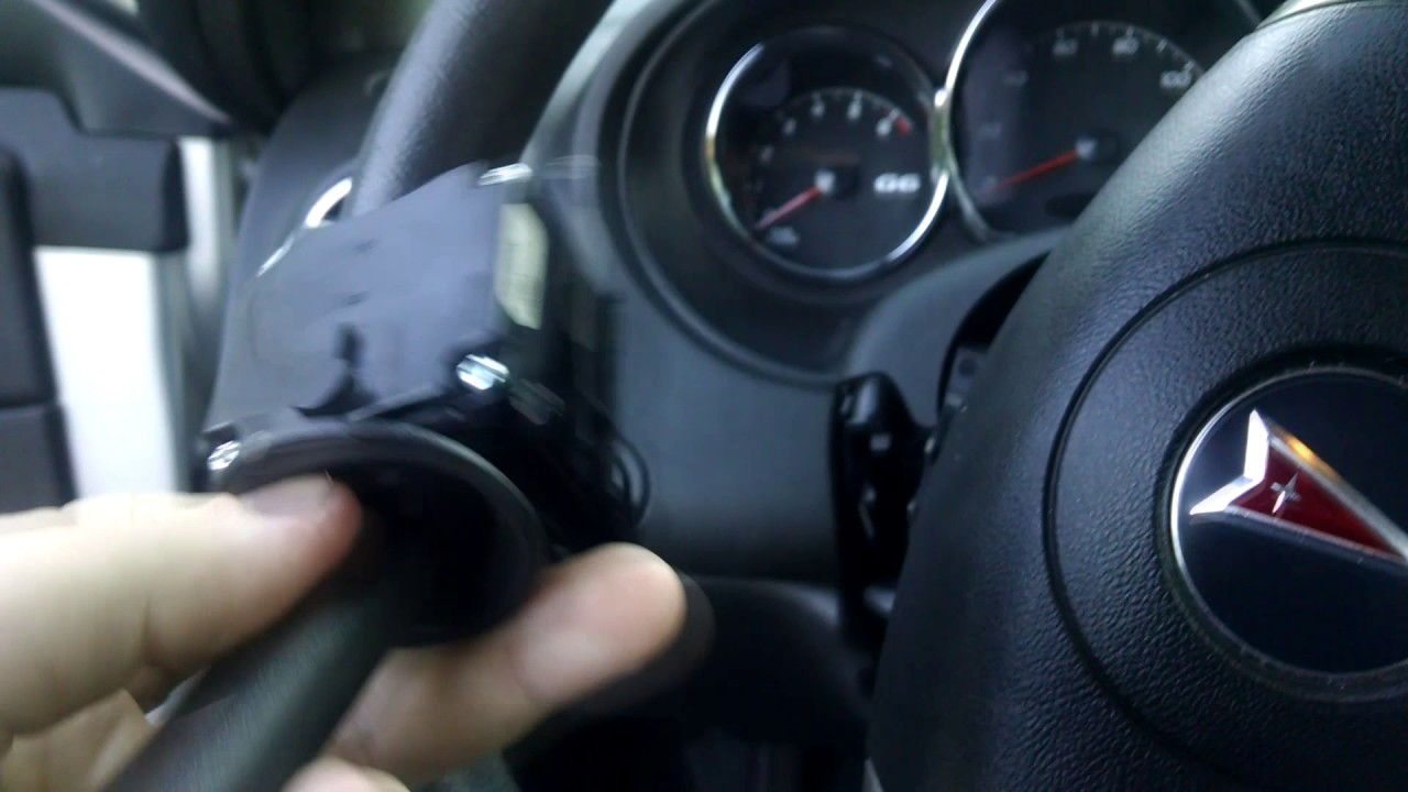 How To Change A Turn Signal Switch In 2006 Pontiac G6 Gt