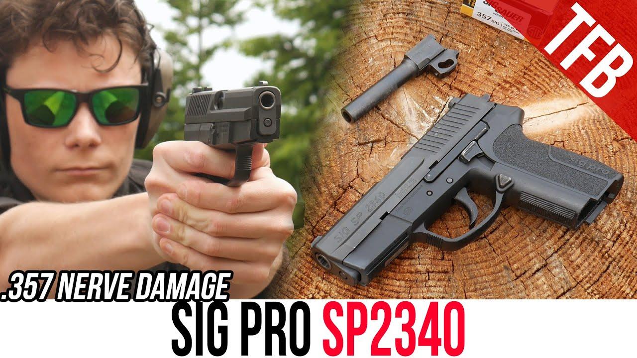 SIG-Sauer's First Polymer Framed Handgun: The SIG Pro SP2340