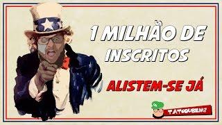 1 milhão de Inscritos