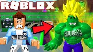 Roblox | XÂY DỰNG NHÀ MÁY ANH HÙNG SUPER SAIYAN HULK (Code) - Superhero Tycoon | KiA Phạm