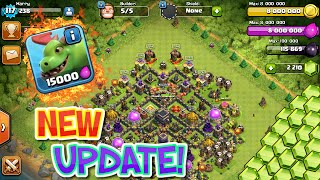 Clash of Clans - NEW COC UPDATE REVIEW+UPGRADES! UPGRADING THE NEW STUFF!