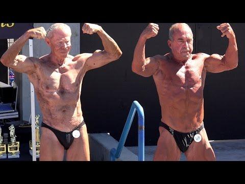 83 Year Old Bodybuilder PREJUDGE Jim Arrington 2015