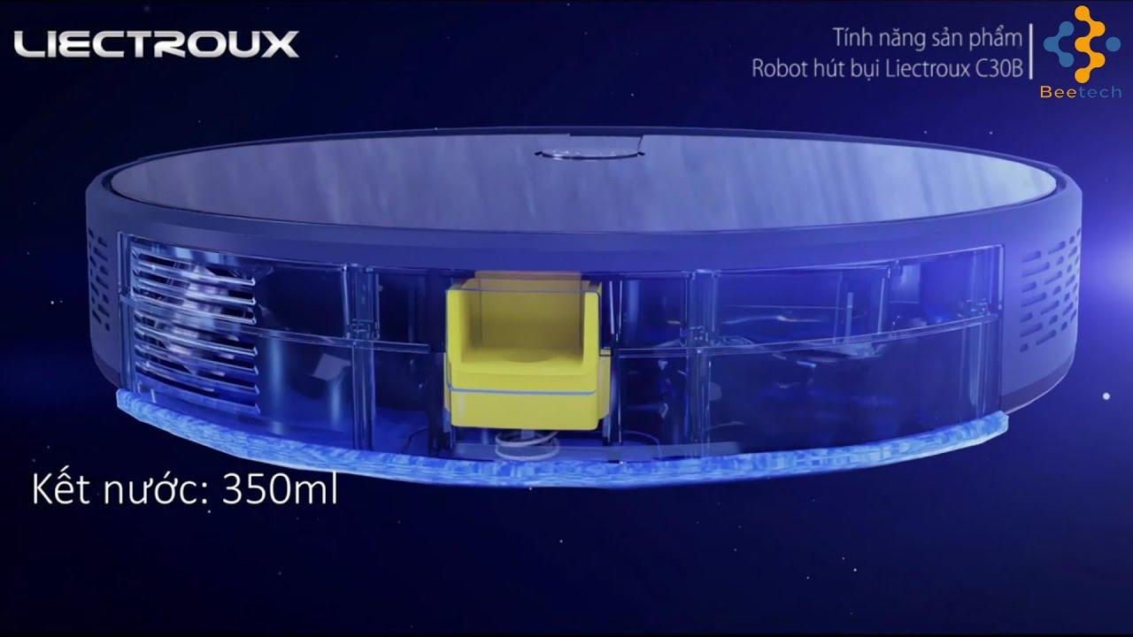 Robot hút bụi giá rẻ Liectroux C30B | Liectroux C30B hiệu năng cao giá ưu  đãi - YouTube