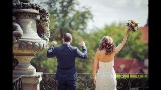 Свадьба в Праге во Вртбовском Саду. Классическая свадьба за границей