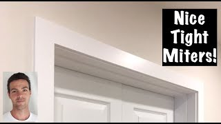 HOW TO INSTALL DOOR CASING