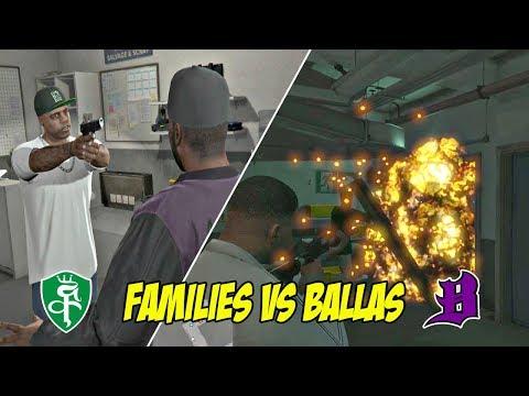PERTEMPURAN GANGSTER FAMILIES VS BALLAS   GTA 5 MISI 9 : THE LONG STREECH   PC
