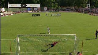 FC Schönberg 95 gegen Hansa Rostock - Landespokalfinale 15/16 - Elfmeterschießen