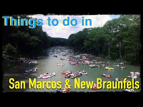 Things to do in San Marcos & New Braunfels Texas Vlog 66