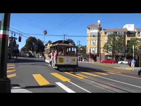 Powell-Mason Cable Car 4 @ Taylor St & Columbus Ave San Francisco California