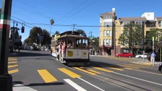 Powell-Mason Cable Car 3 @ Taylor St & Columbus Ave San Francisco California