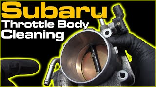 Subaru Throttle Body Cleaning