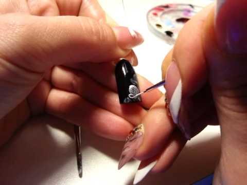 МРАМОРНЫЙ шеллак маникюр с КРУЖЕВОМ Розовые Грезы | Дизайн гелевых ногтей УЗОРЫ на ногтях пошагово