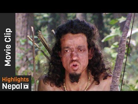Meeting Eku | Nepali Movie THE SOLDIER 2016/2073 | Sunil Thapa, Diwas Uprety