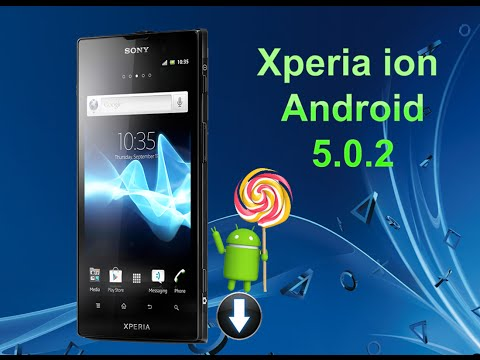 Xperia ion Android 5.0.2